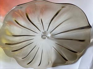 Art Deco geblasenem Glas Bürowände Hand geblasene Wandplatte dekorative Kunst Glas Marokkanische entworfen Dekorplatte Kunstglaswand