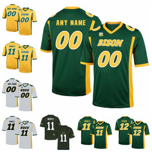 NDSU Bison Jerseys Carson Wentz Jersey Trey Lance Easton Stick Bruce Anderson North Dakota State College Football Jerseys Custom Stitched