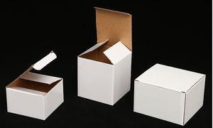 Packaging Personnalisé Emballage de voiture de 20oz Coupe d'auto avec poignée Boîte d'emballage Personnaliser divers modèles Invite de marchandises Boîtes de pliage blanc pour beaucoup de taille A07