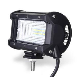72W DC10-30V LED Light Bar Lámpara de Inundación 5 pulgadas Coche Barco Camión Offroad Vehículo Para Jeep Luz de Conducción Impermeable IP67 Luz de trabajo