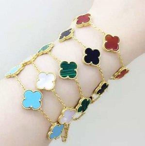 New Fashion Bracelets Paris Clover Bracelet Lucky Designer Bracelet Love Expend Glory Riches Fashion Design Women Wedding Party Bracelets