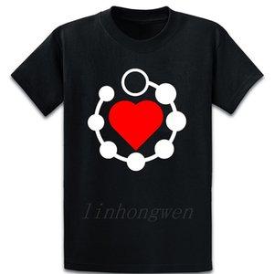 I Heart Anal Boncuklar Tişörtlü Aile Pamuk İlkbahar Sonbahar Gevşek Komik Baskılı Yuvarlak Yaka Kıyafet Gömlek