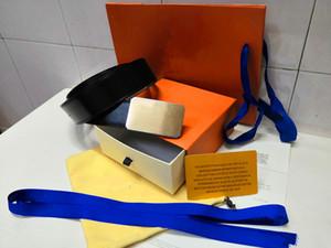cinturones cinturones de diseño cinturones de diseñador para hombre hebillas de cuero de negocios cinturones cinturones de lujo correa negra hebilla de oro grande cinturón de mujer regalo con caja