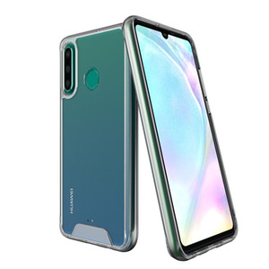 Space Shockproof Clear Hybrid TPU PC Case 대 한 화웨이 P20 P30 Pro Mate 20 Lite Y6 Y7 Pro Y9 P Smart 2019