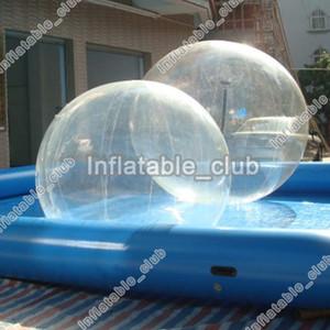 Düşük Fiyat Şişme Oyuncak Çocuk 2 M Dia Şişme Su Yürüyüş Topu Yaz Su Gmes Için PVC Su Rulo Topu Insanlar Için Yürümek