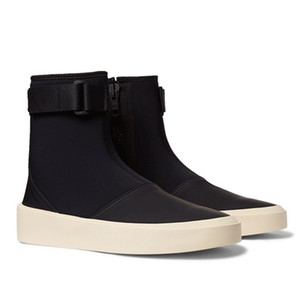 Fear Of God Men Fashion Shoes Breathable Stretch Fabric Boots High Top Mens Casual Sneaker 11#23 20d50