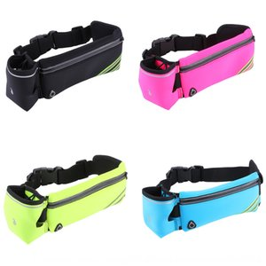 pack belt marathon Bottle running running yoga bag unisex waist bag ultra-thin women's bottle waist pack