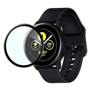 3D-Curved vollständige Abdeckung Ausgeglichenes Glas für Samsung Galaxy Uhr aktiv 2 44mm Schirm-Schutzglas für Galaxy Uhr Active1