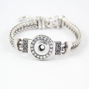 VENDITA! L'alta qualità piccoli pulsanti Noosa Chunk gioielli scatto mutevole Bracciale per Licantropia braccialetto di fascino misura 12 millimetri scatta pulsanti 10pcs / Q