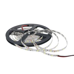 좁은 PCB 300Leds 5M LED 라이트 유연한 램프 스트립 폭 Edison2011 비 방수 SMD 2835 DC 12V 방수가되지 5mm
