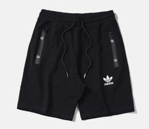 Klassischer Markendesigner Qualität dreidimensionaler Druck Stretch Baumwolle Shorts nahtloser Reißverschluss Herren Casual Jogginghose Casual Hose M - 3