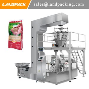 Grass Seed Mixture Rotary Granule Filling Machine Multifunction Plant Seed Stand Pouch Packing Machine Price