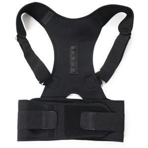 Terapia magnética Postura corporal Corrector Brace Hombro Soporte de espalda Cinturón para hombres Mujeres Braces Soportes Cinturón Postura de hombro