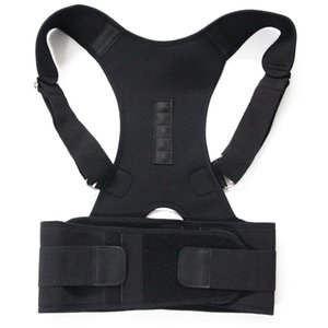 Magnetic ombro Terapia postura corporal Corrector Brace Voltar Suporte de cinto para Homens Mulheres Suspensórios Suporta cinto de ombro Postura