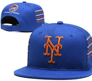 2020 Cheap Mets hat YM Cap snapback Baseball Caps Curved Flat brim Team Size ball Baseball Cap Women Men Classic Fashion Free Ship 11