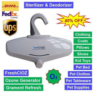 FreshClOZ Gerador de Ozônio Roupeiro Armário de roupa Garment Desinfetar Desodorante Esterilizador Atualizar Shoes Pillow brinquedos e pet fornecimentos