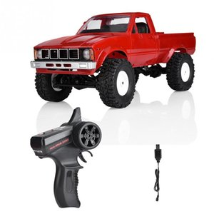 WPL DC-24 2.4GHz Frequency Remote Control Off-road Vehicle 4 Channels RC Truck