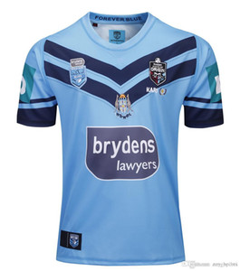 Australien 2019 nsw Blues Hauptjersey holde nswrl Ursprünge Rugbyjerseys New South Wales Rugby League Trikot Holton Shirt