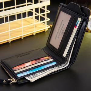 Theft Protect Coin Bag zipper men wallets famous brand mens wallet male money purses Wallets New Design Top Men Wallet