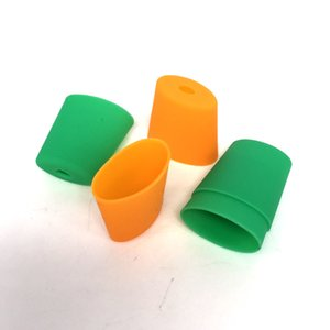 Vagens descartáveis ponta de gotejamento bocal de silicone proteger capa tampa de teste vaporizador vagens sistema vape caneta e cigarro