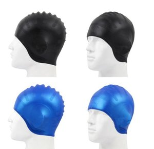 Hydrodynamic design UNISEX MOULDED LATEX 100% SILICONE SWIMMING CAP HAT ADULT CHILDREN SILICONE SWIM SWIMMING HATS
