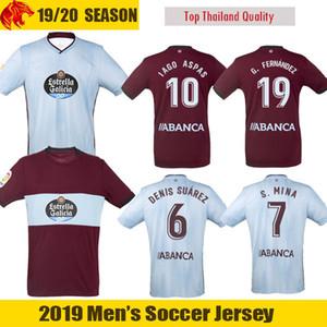 19 20 Celta Vigo Soccer Jerseys IAGO ASPAS 2019 2020 Celta de Vigo SMOLOV Camiseta de futbol S.MINA Football Shirt RAFINHA Camisa