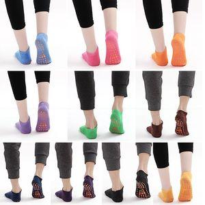 Criança meias bebê Piso Socks Crianças Yoga Trampolim meias de algodão Ankle Sock Chinelos Sports Designer antiderrapante Curto Meias Tornozeleira C341