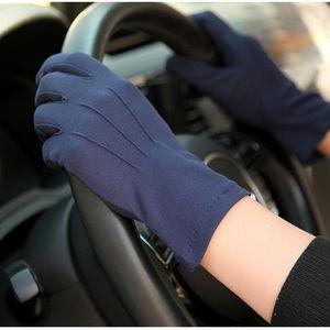 2018 Летняя защита ВС перчатки Мужской тонкий дышащий Anti-Slip водительские перчатки Anti-UV Полный Пальцы Man варежки SZ105W1