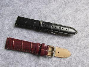 cadeau gratuit outil HAUTE qualité cuir bracelet en cuir 16mm 18mm 20mm 22mm 24mm montre femmes hommes bracelet montre remplacer bracelet accessoire fixe