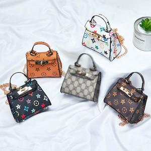 Nuevos niños bolsos de la manera del bebé Mini monedero del hombro Bolsas Adolescente muchachas de los niños bolsas de mensajero Lindos regalos de Navidad