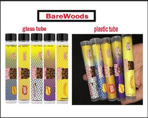 Barewoods Prerolls Tubo de envases de plástico desnudo OG / tubos de cristal de pre-roll pre-roll 2020 moonrock Dankwoods Broma de hasta Barefarms Limited