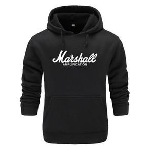 Sweat-shirt Marshall Hoodies Hommes Femmes Fashion Style Rock Band Musique automne Hip Hop Pull à capuche hommes manteau de veste