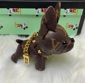 High Quality Luxury Keychains Designer Key Buckle Purse Pendant Bags Dog Style Design Bag Doll Chains Key Buckles Louìs Vuìttõn with Box