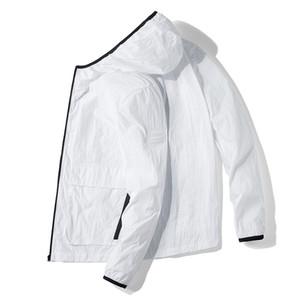 TFETTERS Yaz 2019 Kore Tarzı Erkekler Ceket erkek Güneş Kremi Giysileri Rahat Pilili Kumaş Bombacı Ceket Ince Ince Giysiler