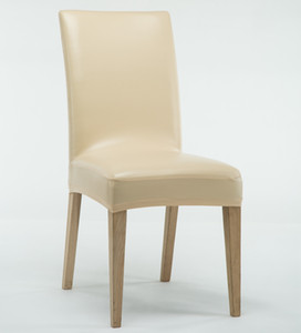 ROMANZO 6шт / серии Толстого водонепроницаемый Stretch PU / PVC Стул Охватывает Универсальную крышку для стула Бесплатной доставки