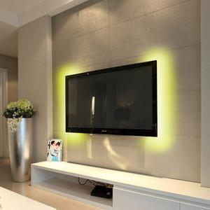 BRELONG 3528SMD RGB striscia luminosa TV sfondo chiaro di controllo Bluetooth APP dimmerabile bare board non è impermeabile