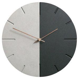 ABUI-12 Inch Silent Decorative Wood Watch for Wall Custom Quartz Retro World Time Clock for Living Room