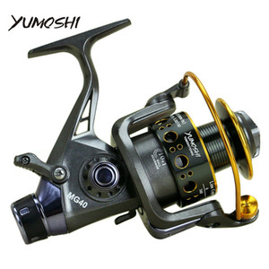Nouveau Double Frein Conception Moulinet De Pêche Super Strong Carp De La Pêche Feeder Spinning Reel Spinning Wheel Type De Pêche Roue Mg