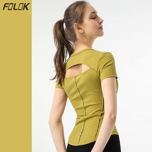 Yoga Top Women's Short Sleeve Sexy Fashion Sport Running Fitness T-shirt Quick Dry Bodysuit Breathable GYM Clothing