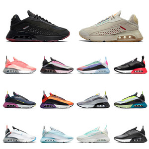 High Quality Air 2090 Trainers Cushion Running Shoes Praia Grande White Black BE TRUE 2090s Pure Platinum off Mens Women Designer Sneakers