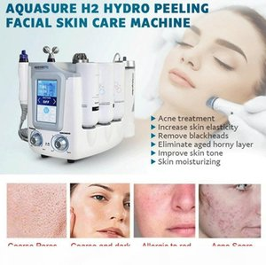 New Arrival Aquasure H2 Hydro Dermabrasion Hydra Facial Machine BIO Lifting Massage Water Peeling Face Care Deep Cleansing Anti Aging Device