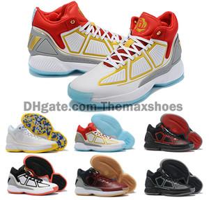 Yeni D Gül 10 10 S X MVP Derrick Rose Erkek Basketbol ayakkabı Erkekler En Kaliteli ayakkabı 10 s Spor Sneakers tasarımcı ayakkab ...