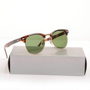 10шт / серия Классические мужские черные солнцезащитные очки унисекс Club Солнцезащитные очки женские Солнцезащитные очки Марка Дизайнер Sun Glassess с оригинальными случаями и коробками