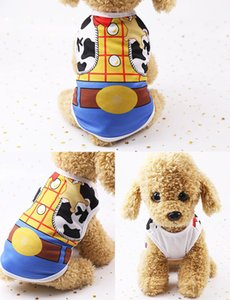20SS moda perro ropa gato chaleco camisa Color puro gato ropa para mascotas rayas perro camisetas pequeño mediano ropa para mascotas ropa