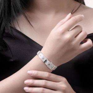 Kadınlar DIY Güzel Takı Hediyeler için Sıcak Satış 925 gümüş Klip Boncuk Bileklik Fit Orjinal Reflexions Charms Watch Bilezik