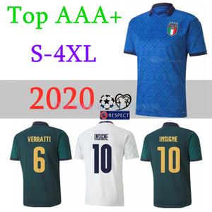 2020 مجموعات موحدة إيطاليا لكرة القدم الفانيلة كرة القدم للرجال 20 21 ايطاليا بونوتشي INSIGNE جورجينيو لكرة القدم قمصان أطقم الايطالي لكرة القدم
