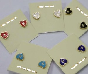 pendientes para las mujeres pendientes de resina marca earing diseños originales tb pendientes del perno prisionero de la tarjeta paquete personalizados de calidad del hight 1: 1 de la joyería