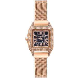 Dimini Mode Cristal Mesdames Montre Femme Quartz acier étanche Montres 2020 marque Top Femme Horloge