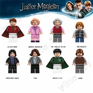 Hottest Harry Potter Building blocks action Figure Giocattoli Harry Potter modello Building Blocks Regalo per i bambini
