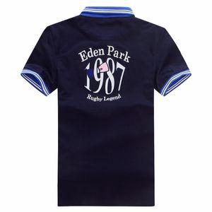 Frankreich marke eden park top männer polos shirts w007 frankreich mode lässig stil 100% baumwolle kurzarm sommer laple t-shirt tees tops m-